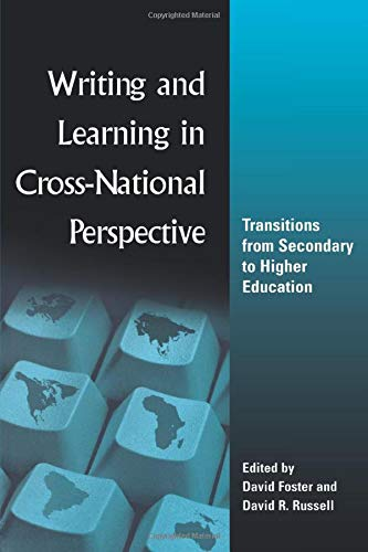 Download Writing and Learning in Cross-national Perspective 0805844856