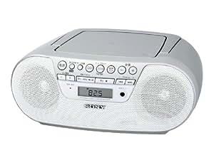 SONY CDラジオ S10CP ホワイト ZS-S10CP/W
