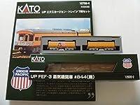 KATO UPエクスカージョントレイン+ウォーターテンダー+UP FEF-3
