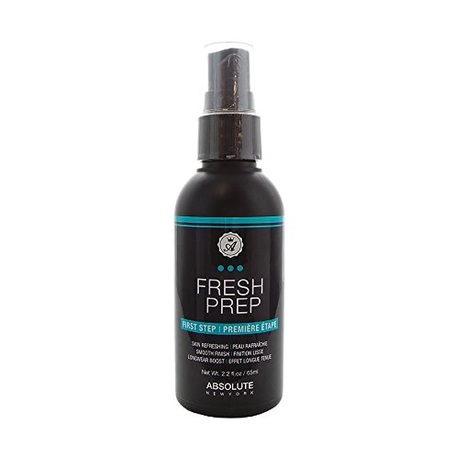 始める水銀のパスタ(3 Pack) ABSOLUTE Fresh Prep Primer Spray (並行輸入品)