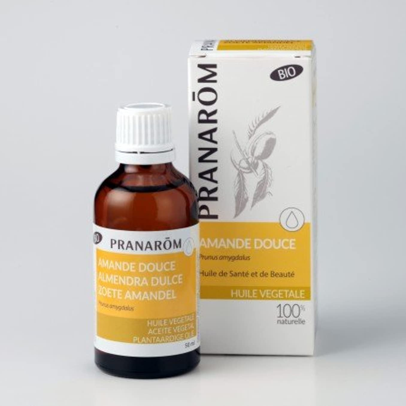 雇用者邪悪なタンカープラナロム ( PRANAROM ) 植物油 スィートアーモンド油 ( スイートアーモンド油 ) 50ml 12640 スイートアーモンドオイル キャリア...