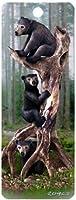 3D bookmark 'Black Bears'
