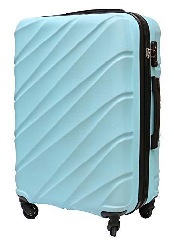 UNE BONNE(ウネボネ) 日乃本キャスター 輪 スーツケース キャリーバッグ キャリーケースMサイズ ハードケース TSAロック 約53L 拡張