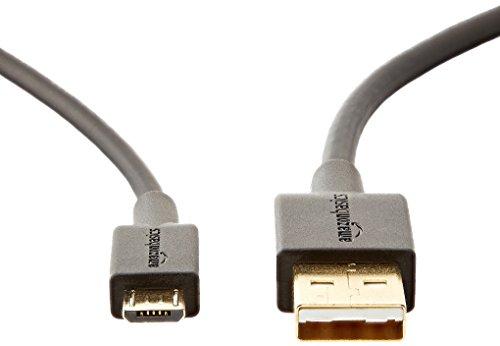 『Amazonベーシック USBケーブル 0.9m (2.0タイプAオス - マイクロBケーブル) ブラック』の3枚目の画像