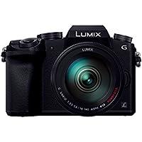パナソニック ミラーレス一眼カメラ ルミックス G7 レンズキット 高倍率ズームレンズ付属 1600万画素 ブラック DMC-G7H-K