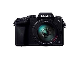 Panasonic ミラーレス一眼カメラ ルミックス G7 レンズキット 高倍率ズームレンズ付属 1600万画素 ブラック DMC-G7H-K
