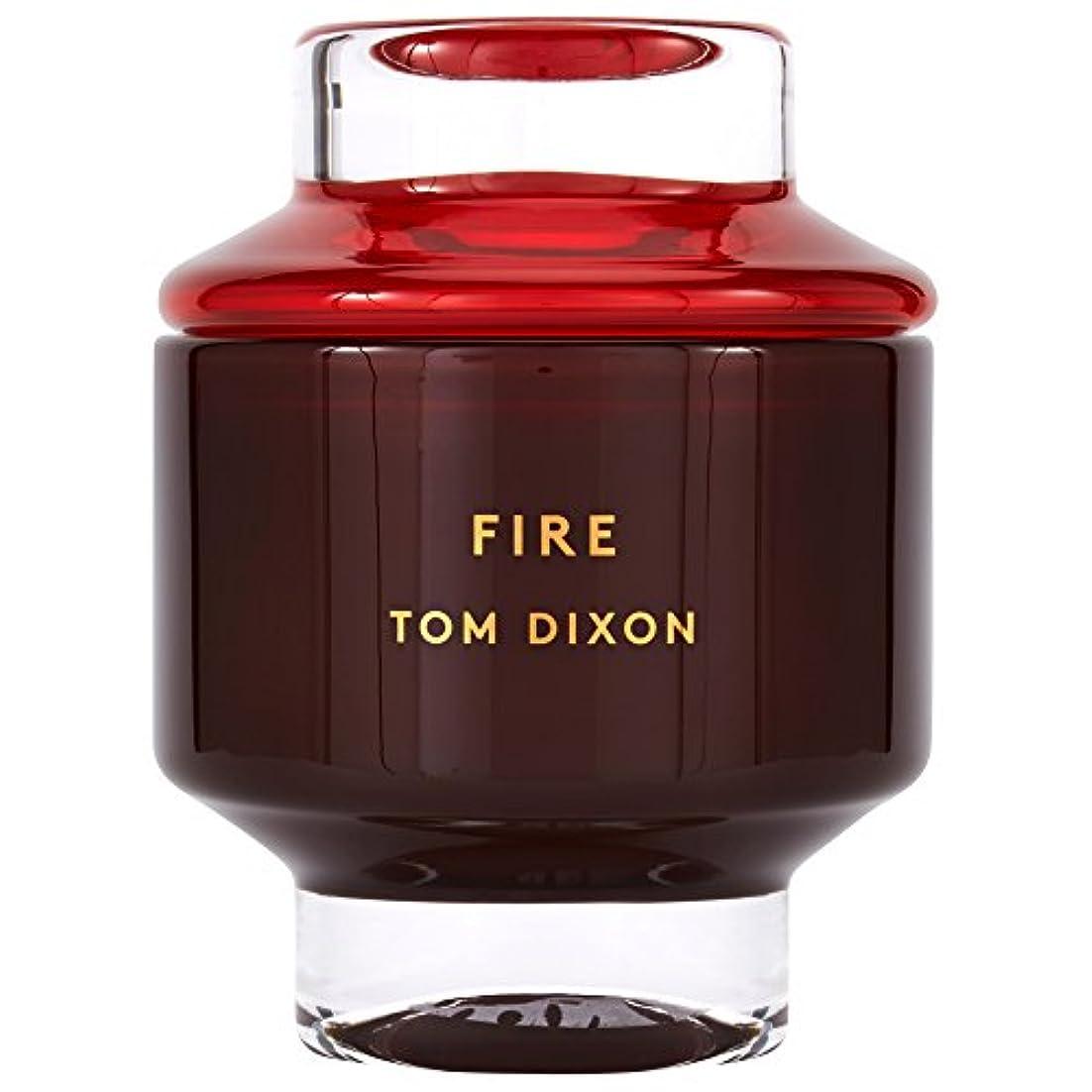 精査する目的哺乳類Tom Dixon Fire Scented Candle Large (Pack of 2) - トム?ディクソン火災大型香りのキャンドル x2 [並行輸入品]
