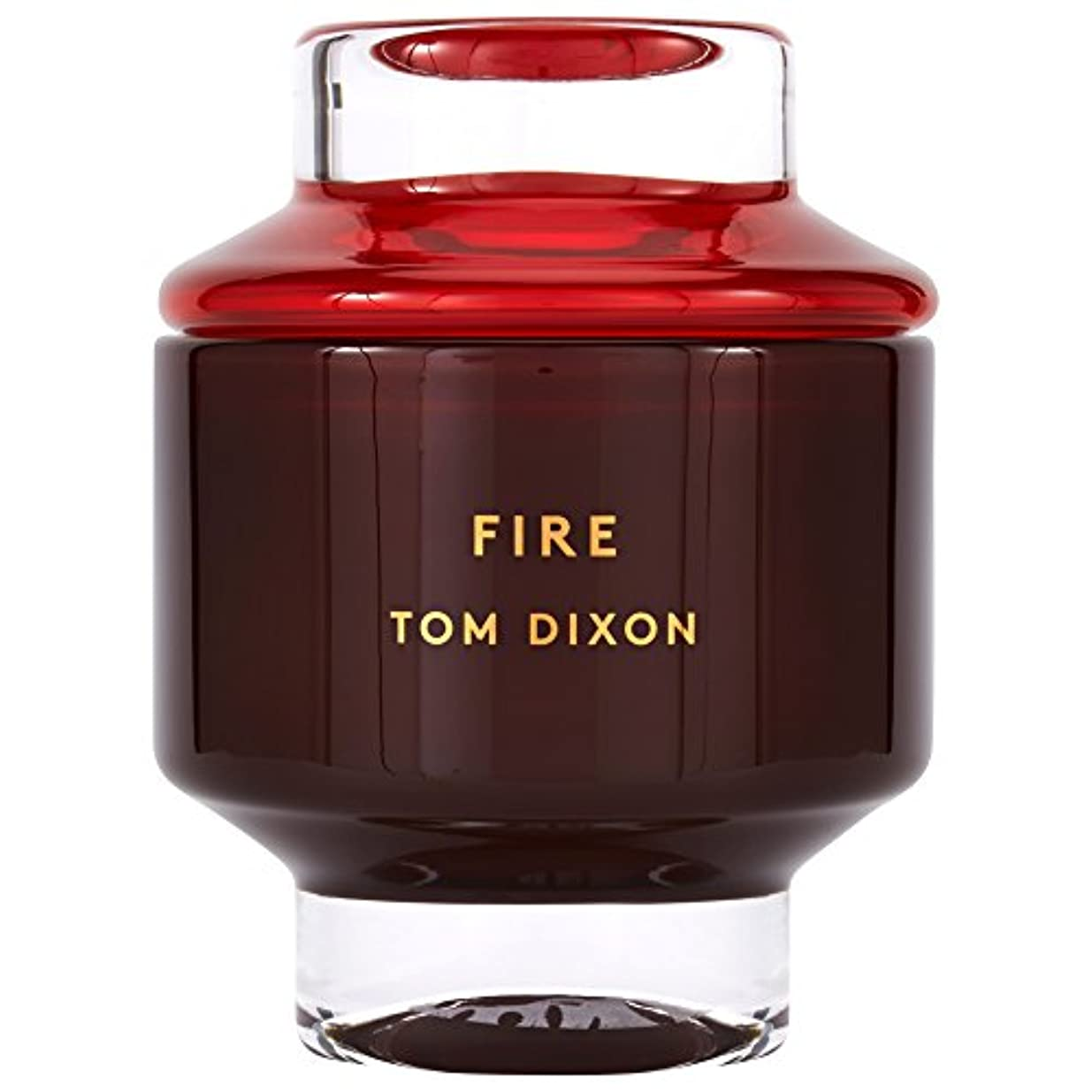 大きい略す料理をするトム?ディクソン火災大型香りのキャンドル x6 - Tom Dixon Fire Scented Candle Large (Pack of 6) [並行輸入品]