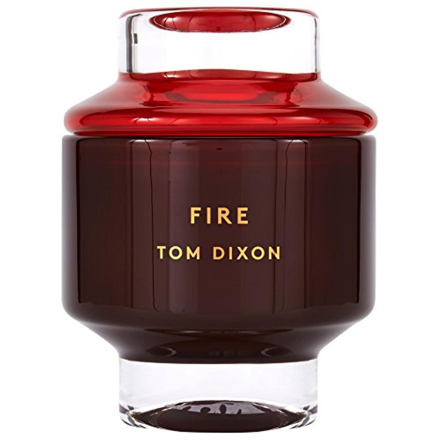 触覚ワーカーピースTom Dixon Fire Scented Candle Large (Pack of 2) - トム?ディクソン火災大型香りのキャンドル x2 [並行輸入品]