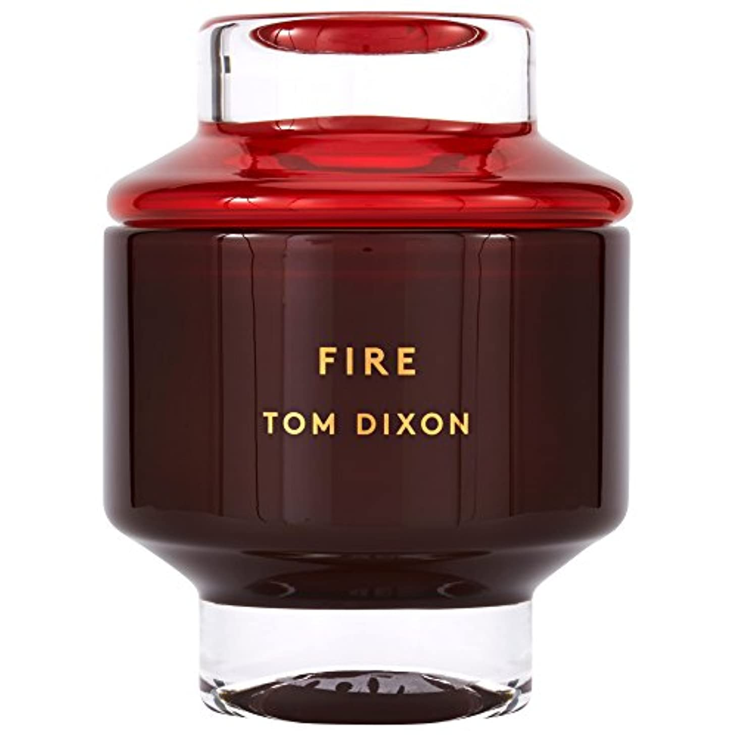 Tom Dixon Fire Scented Candle Large - トム?ディクソン火災大型香りのキャンドル [並行輸入品]