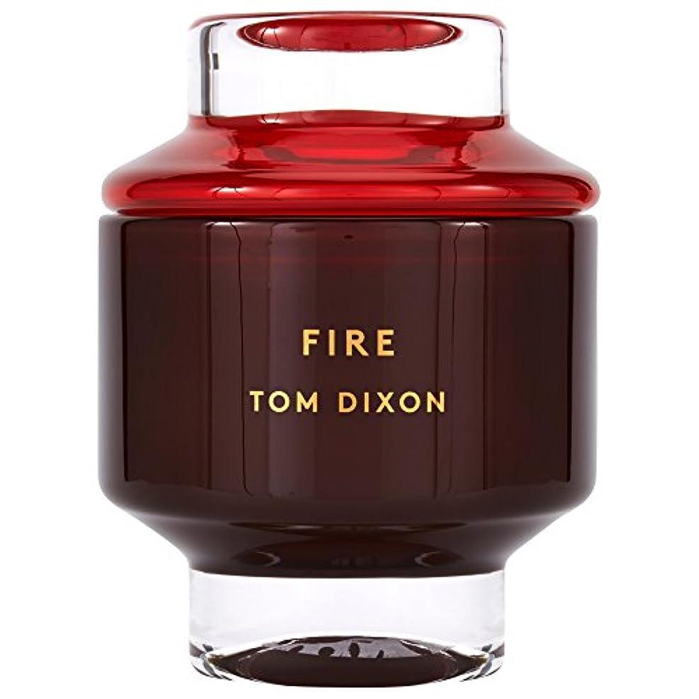 生まれ無知キッチンTom Dixon Fire Scented Candle Large (Pack of 2) - トム?ディクソン火災大型香りのキャンドル x2 [並行輸入品]