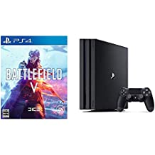 PlayStation 4 Pro ジェット・ブラック 1TB + Battlefield V (バトルフィールドV) セット