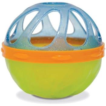 munchkin マンチキン おふろおもちゃ バスボール 揺れたりころがったりすると音が鳴る ブルー