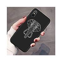 新しい動物電話ケースiphone 8プラス黒マットソフトTPUバックカバーiphone 11プロX XR XS最大10 7 6 6 sプラス5 5 s SEケース,For 6Plus and 6sPlus,xtxiang