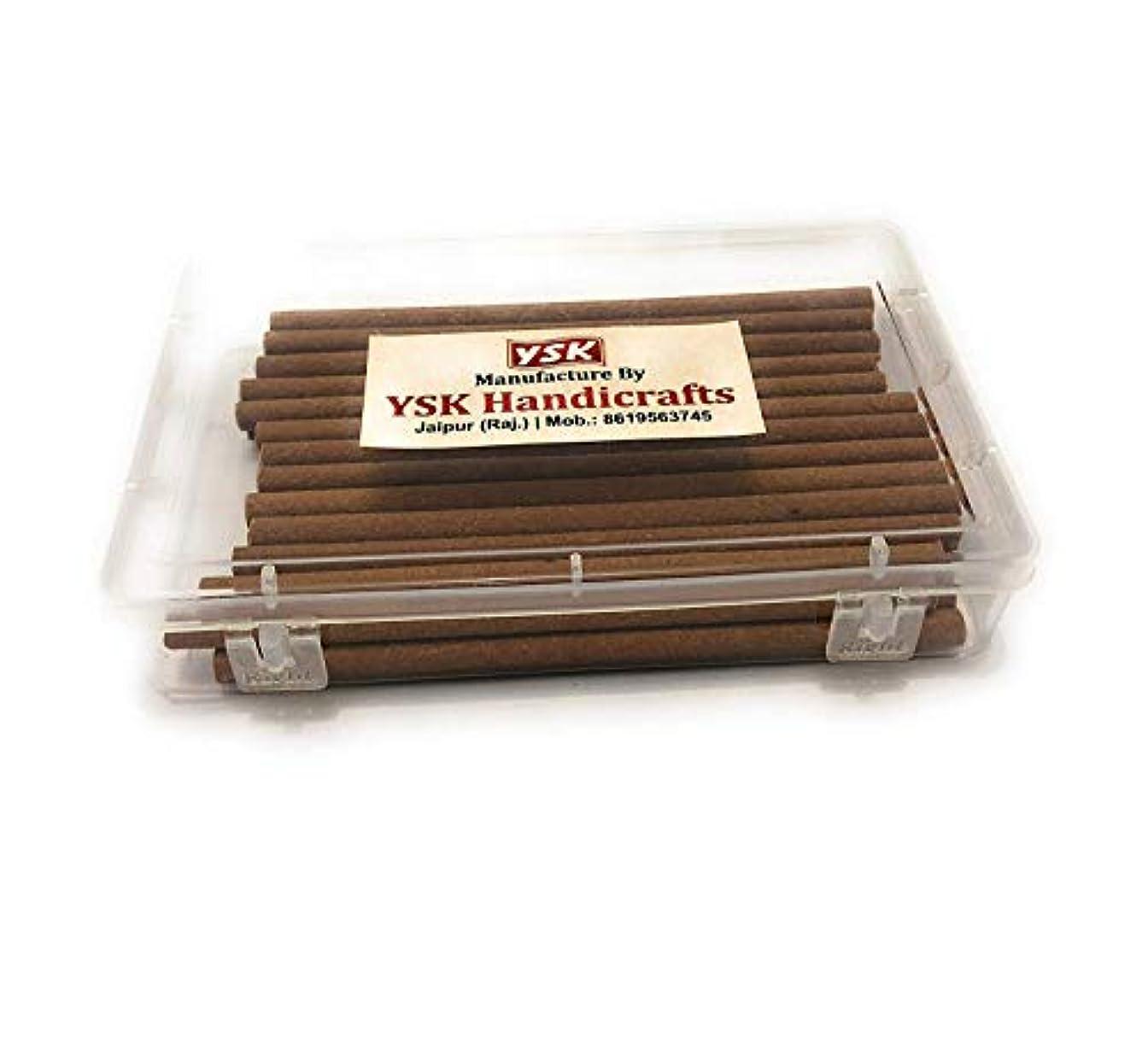 胸武装解除重々しいYSK Sandalwood Incense Stick with Stand -Set of 28 Pieces