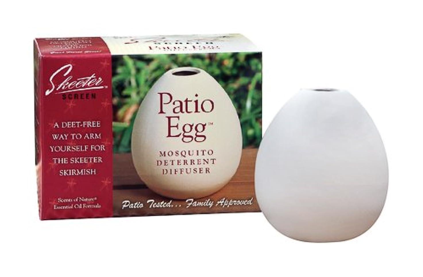 環境に優しいハシー適性4OZ Patio Egg Diffuser (Pack of 6) by Scent Shop [並行輸入品]