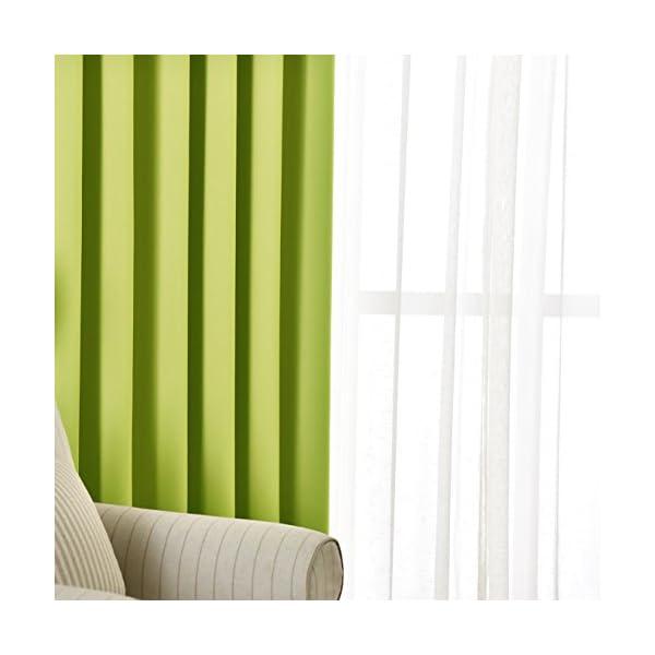 NICETOWN 遮光カーテン 2枚セット グ...の紹介画像5