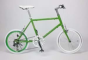 21Technology ミニベロ 20インチ クロスバイク CL20 シマノ6段変速 (グリーン)