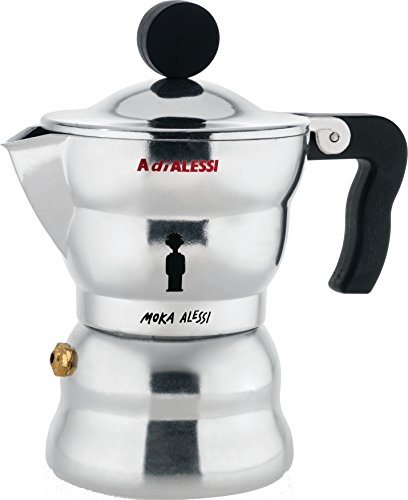 ALESSI アレッシィ Moka Alessi エスプレッソコーヒーメーカー/1カップ用 AAM33/1