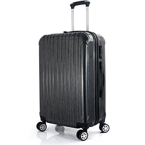 LEVIN 超軽量 スーツケース TSAロック 国内・国際線機内持込可 (s)