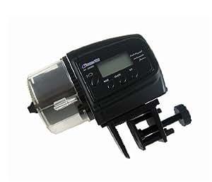 金魚・熱帯魚への自動エサやり装置 設定時間は1日に4回まで可能 旅行や出張時に水槽用の自動餌やり機