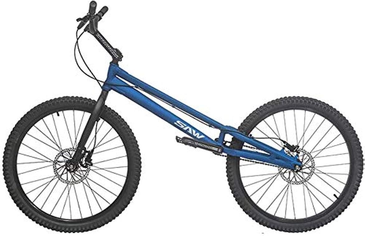ランタンレモン晴れBMX 自転車 2020 SAW-初心者から上級者までの26インチトライアルバイク/バイクトライアル、アルミニウム合金フレームとフォーク、コンプリートバイク,Blue,upgraded version