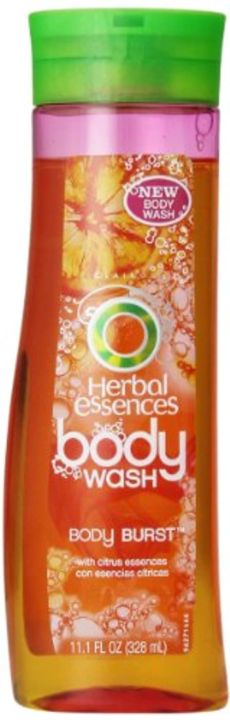 駅コンサルタント欠伸Herbal Essences Body Burst Body Wash 11.1 Fl Oz by P&G [並行輸入品]