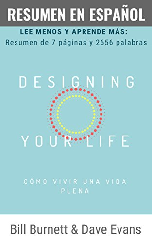 amazon resumen designing your life en español bill burnett dave