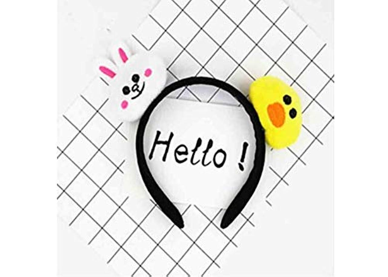 こどもの日パドルプレビューMINGTAI パーソナライズされた漫画のヘアアクセサリーティアラヘッドバンドヘアバンドカーリング (Color : 1)