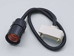 ELPA コードセット 50cm ブラック KP-5H(BK)