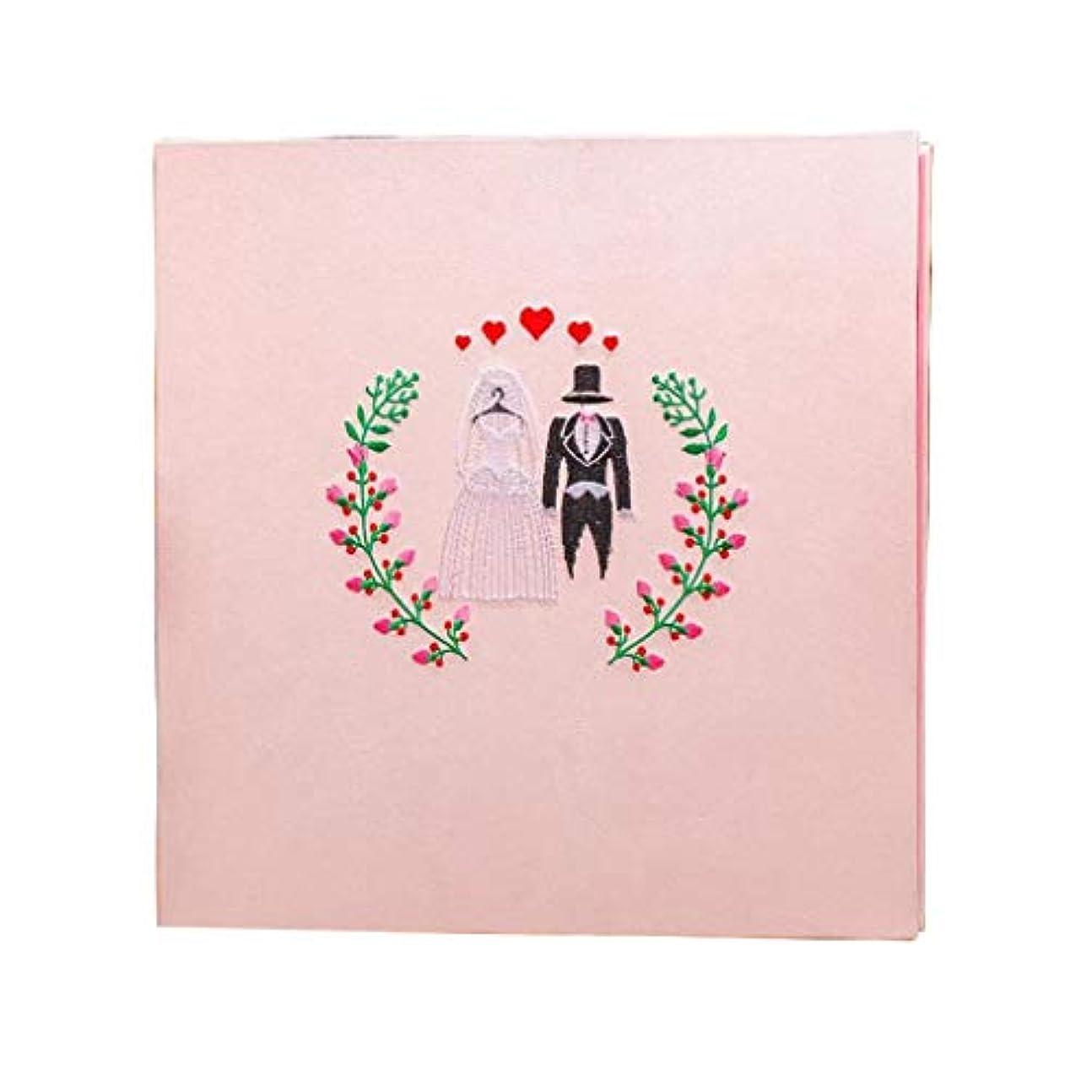 キー六脚本HongTeng 18インチの手作りDIYフォトアルバム、タイプDIフォトアルバム、ウエディングフォトアルバム、カップルフォトアルバム、新年のギフト、ギフトボックスを貼り付け (Color : Pink white inner page)