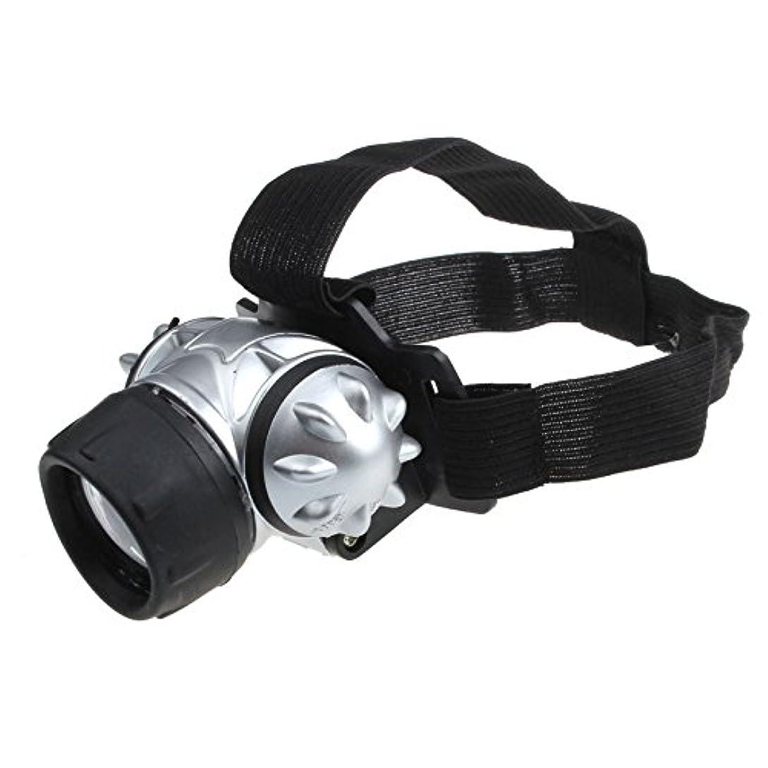 徴収誰でも納得させるヘッドライト TangQI ヘッドランプ 7*LED 3x単4バッテリー 超強力 軽量 アウトドア ズーム可能 作業 夜釣り 工事 自転車 船検用品 停電対応 防水 高品質