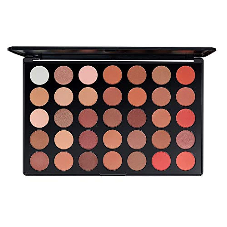 ロイヤリティビジネス赤(化粧ブラシ1組プレゼント)35色アイシャドウパレットシルキーパウダープロメイクアップ商品化粧品メイクアップアイシャドウ (Color : 2#)