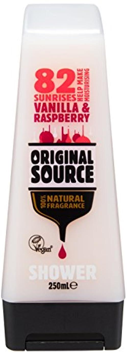 人道的そんなに拡大するCussons Vanilla Milk and Raspberry Original Source Shower Gel by Cussons