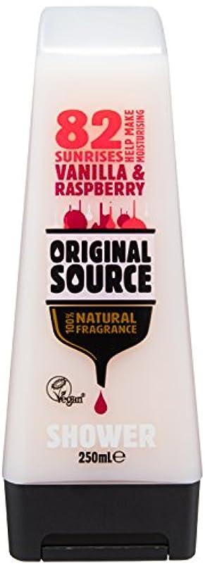 減る凝縮するまぶしさCussons Vanilla Milk and Raspberry Original Source Shower Gel by Cussons
