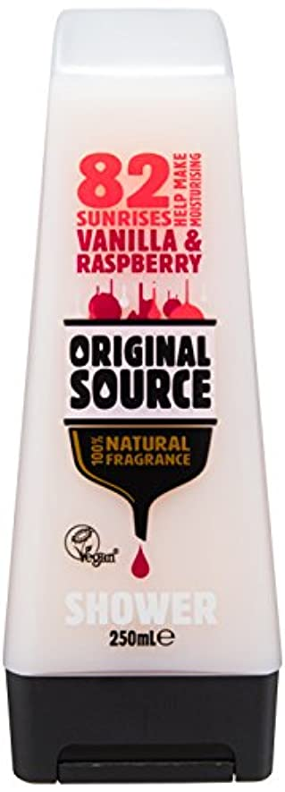 Cussons Vanilla Milk and Raspberry Original Source Shower Gel by Cussons