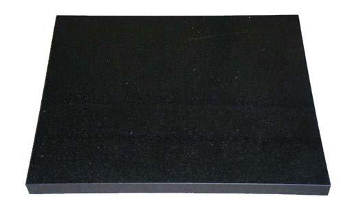オーディオボード 天然黒御影石 (山西黒) 厚み約30mm 200×250mm 石専門店.com