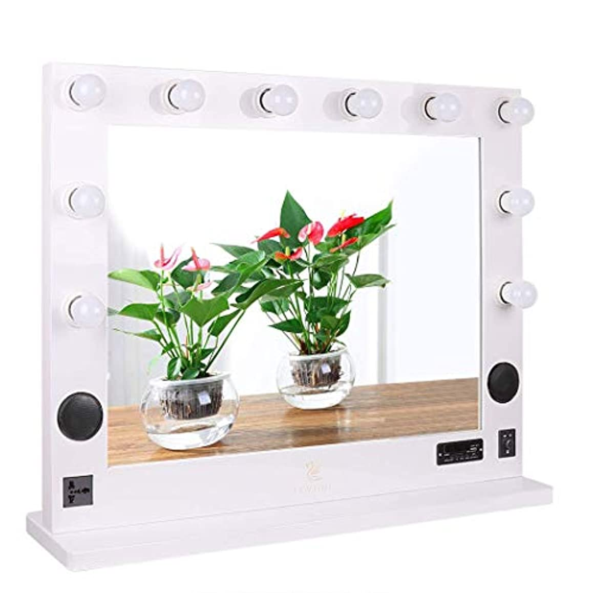 本質的ではない法王花瓶LUVODI 10と調光器36  とハリウッド点灯化粧バニティミラー光メイクアップ化粧台 洗面化粧台セットミラー×30  大化粧鏡 ライト ミラーバックみ