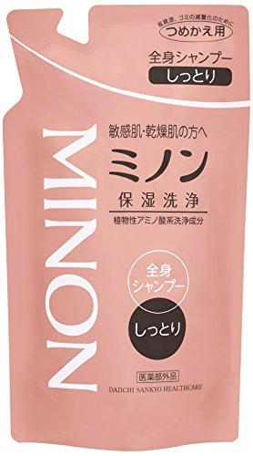 MINON(ミノン) 全身シャンプー しっとりタイプ 詰替用 380mL 【医薬...