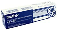 Brother PC-72RF Pack of 2 Ribbon refill rolls PC72RF (PC-20) FAX T72, T74, T76, T78, T82, T84, T86, T92, T94, T96, T98 ,