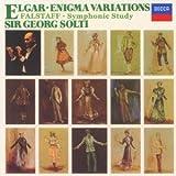エルガー:エニグマ変奏曲、交響的習作「フォールスタッフ」