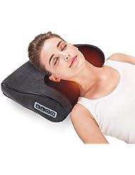 RANBOW首と肩マッサージ枕 立体 正転 反転 3D 温め機能 過熱保護 もみ玉 マッサージまくら マッサージ機 マッサージ器 マッサージャー マッサージマシン 父の日のプレゼントとして最適