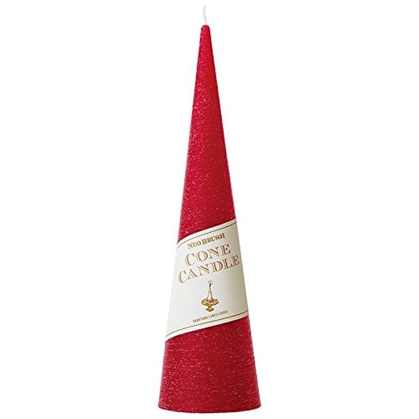 要件石鹸質素なネオブラッシュコーン 180 キャンドル 「 レッド 」 A9750010R