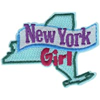 """New York Girl 2.5"""" Embroidered Patch AVA2411k"""