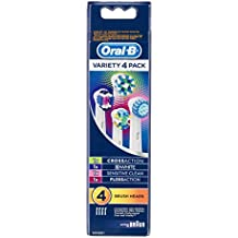 Oral-B Variety Pack Replacement Power Toothbrush Heads (Pack Of 4)