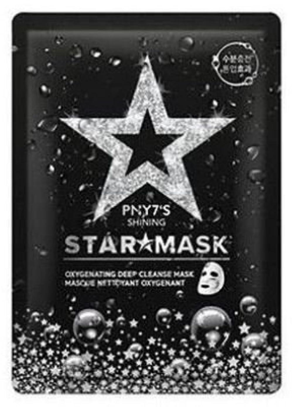 不定ホームレス男らしさ[PNY7'S] Shining Star mask 10ea/[PNY7'S]シャイニングスターマスク10枚 [並行輸入品]
