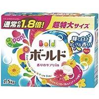 (まとめ) P&G ボールド 香りのサプリイン 粉末 1.5kg 1個 【×5セット】