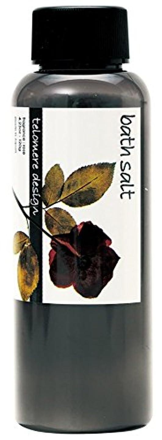 実用的抑圧者幾分テロメア 入浴剤 バスソルト 120g 日本製 バラの香り OB-TLO-5-4