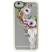 Casetify iPhone 7 ケース ルーシー・ヘイル Deer Head Skull and Floral 【日本正規代理店品】 CTF-3771428-298601