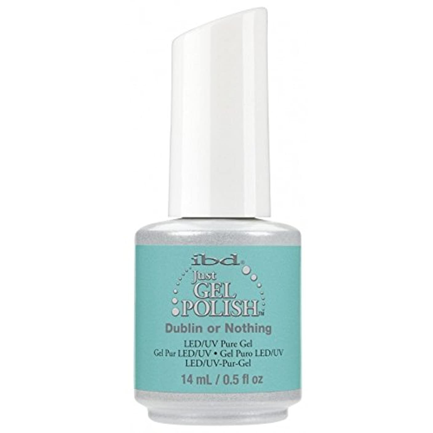 陽気な政治的コカインibd Just Gel Nail Polish - Summer 2017 Destination Colour Collection - Dublin or Nothing - 14ml / 0.5oz